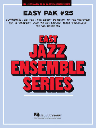 Product Cover for Easy Jazz Ensemble Pak 25
