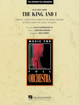 Product Cover for Selections from The King and I