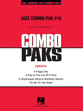 Product Cover for Jazz Combo Pak #16