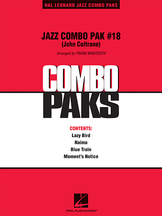 Product Cover for Jazz Combo Pak #18 (John Coltrane)
