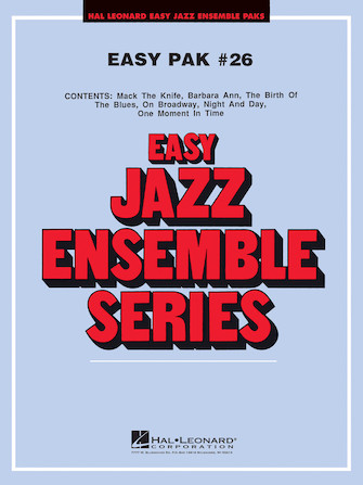 Product Cover for Easy Jazz Ensemble Pak 26