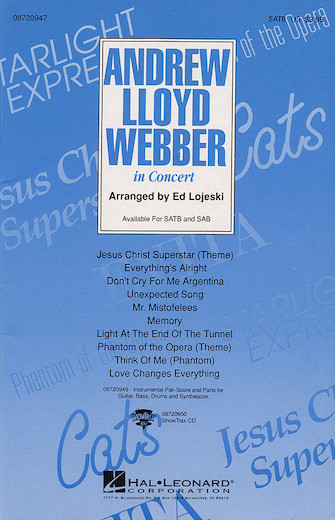 Product Cover for Andrew Lloyd Webber in Concert (Medley)
