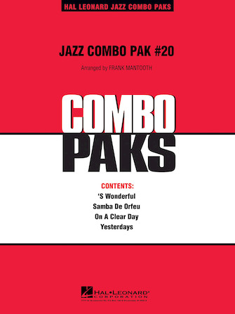 Product Cover for Jazz Combo Pak #20