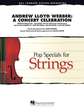 Product Cover for Andrew Lloyd Webber – A Concert Celebration (Medley)