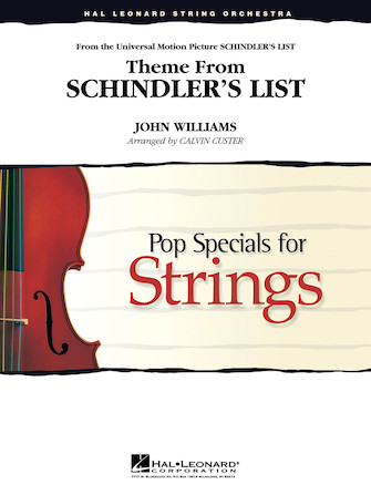 Product Cover for Schindler's List, Theme from