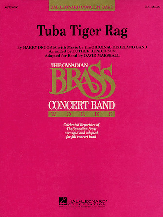Product Cover for Tuba Tiger Rag