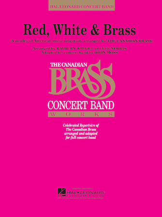 Product Cover for Red, White, & Brass