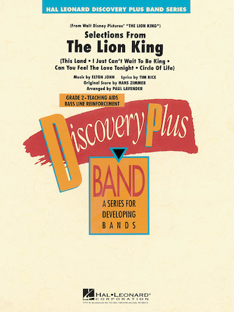 Product Cover for The Lion King – Selections from