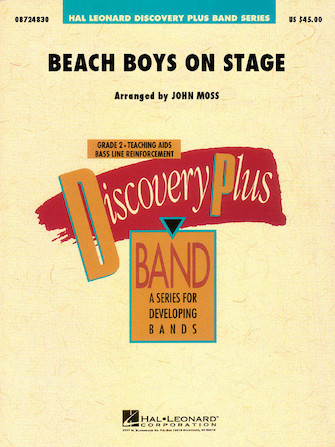 Product Cover for Beach Boys on Stage
