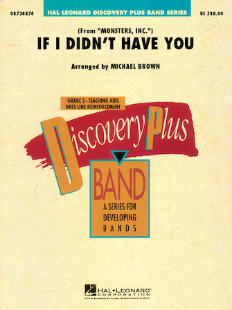 Product Cover for If I Didn't Have You (from Monsters, Inc.)