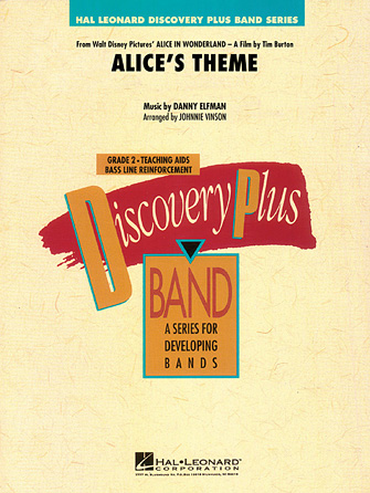 Product Cover for Alice's Theme (from Alice in Wonderland)