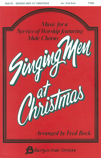 Product Cover for Singing Men at Christmas (Collection)