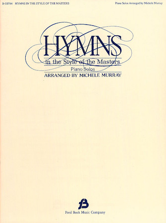 Product Cover for Hymns in the Style of the Masters – Volume 1