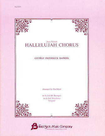 Product Cover for Hallelujah Chorus