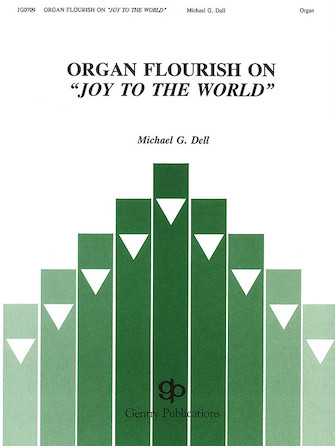 "Product Cover for Organ Flourish on ""Joy to the World"""