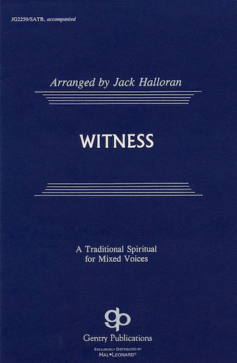 Product Cover for Witness