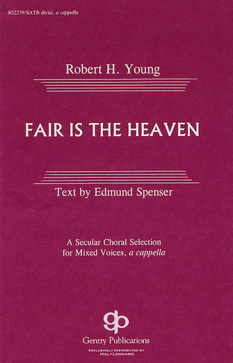 Fair Is the Heaven : SATB : 08739162 : Sheet Music : 08739162 : 073999391626
