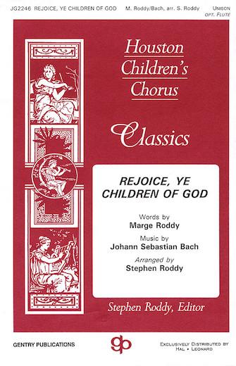Rejoice, Ye Children of God : 2-Part : Stephen Roddy : Sheet Music : 08739164 : 073999391640