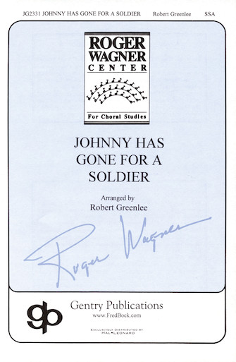 Product Cover for Johnny Has Gone for a Soldier