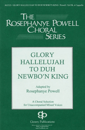 Product Cover for Glory Hallelujah to Duh Newbo'n King!