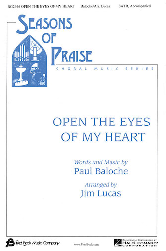 Product Cover for Open the Eyes of My Heart