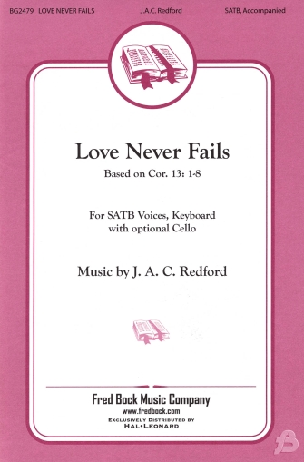 Product Cover for Love Never Fails