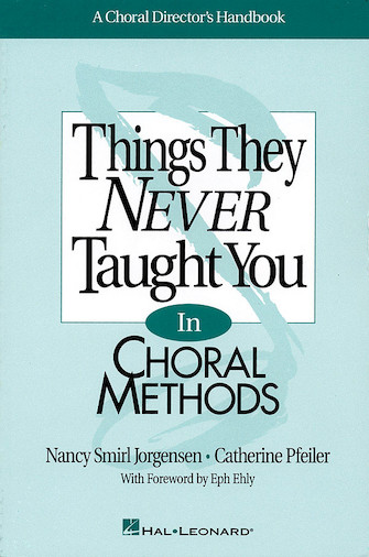 Product Cover for Things They Never Taught You in Choral Methods