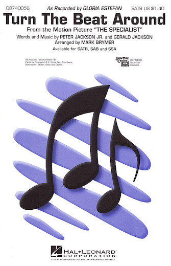 Turn the Beat Around : SATB : Mark Brymer : Gloria Estefan : Sheet Music : 08740056 : 073999400564