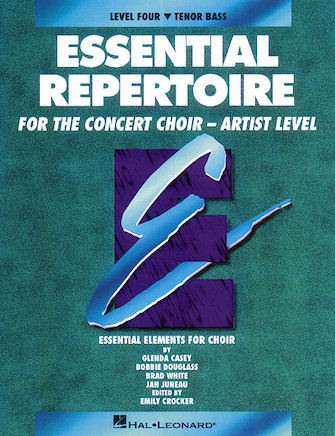Product Cover for Essential Repertoire for the Concert Choir – Artist Level