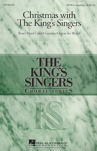 "Christmas with the <span style=""color:red;"">King's Singers</span> (Collection) : SATB : David Overton : King's Singers : Sheet Music : 08740316 : 073999403169"