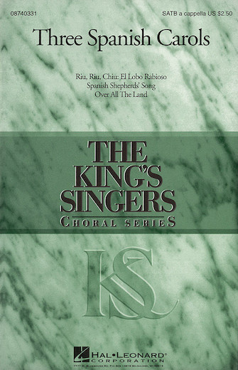 Riu, Riu, Chiu: El Lobo Rabioso : SATB : Goff Richards : King's Singers : Sheet Music : 08740331 : 073999403312