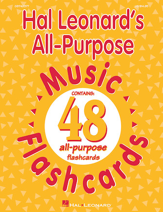 Product Cover for Hal Leonard's All-Purpose Music Flashcards