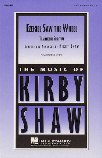 Ezekiel Saw De Wheel : SAB : Kirby Shaw : Sheet Music : 08740592 : 073999405927