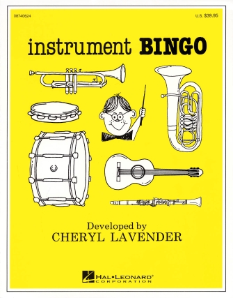 Product Cover for Instrument Bingo