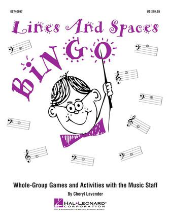 Product Cover for Lines and Spaces Bingo