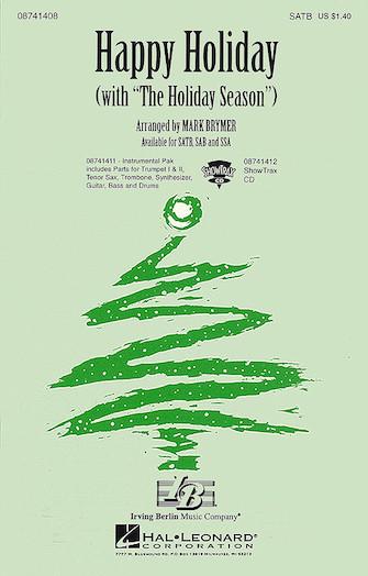 Happy Holiday : 2-Part : Mark Brymer : Sheet Music : 08741410 : 073999875904