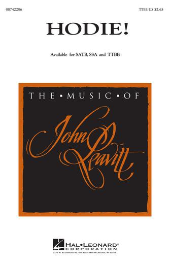 Hodie! : TTBB : John Leavitt : Sheet Music : 08742206 : 073999422061