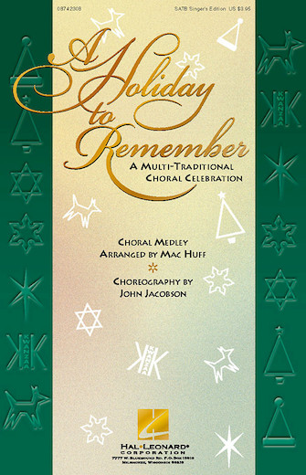 Product Cover for A Holiday to Remember – A Multi-Traditional Choral Celebration (Medley)