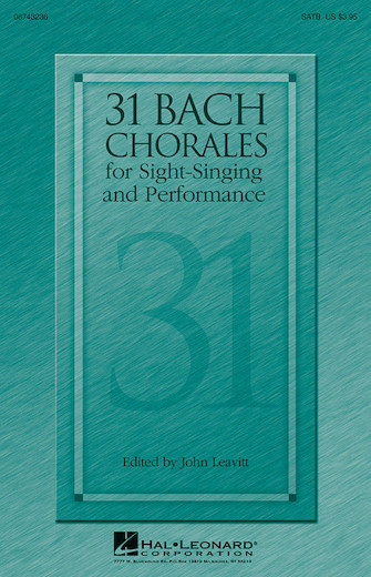Product Cover for 31 Bach Chorales for Sight-Singing and Performance