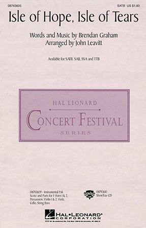 Isle of Hope, Isle of Tears : TTB : John Leavitt : Sheet Music : 08743608 : 073999159042