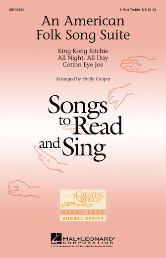 An American Folk Song Suite : SSA : Shelly Cooper : Sheet Music : 08743835 : 073999438352