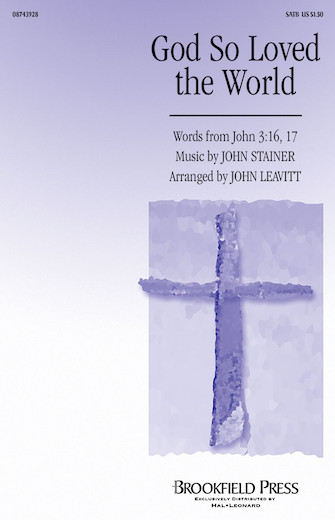 Product Cover for God So Loved the World