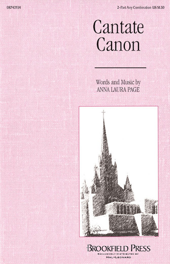 Cantate Canon : 2-Part : Anna Laura Page : Anna Laura Page : Sheet Music : 08743934 : 073999439342