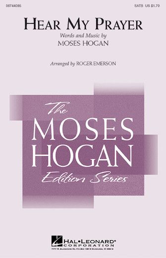 Hear My Prayer : SATB : Roger Emerson : Sheet Music : 08744085 : 073999663341
