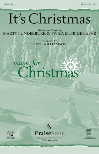 It's Christmas! : SATB : Dave Williamson : Sheet Music : 08744249 : 073999300772