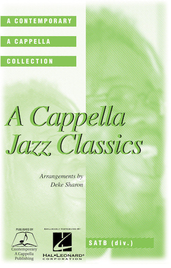 Product Cover for A Cappella Jazz Classics