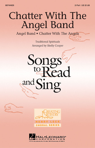 Chatter with the Angel Band : 2-Part : Shelly Cooper : Sheet Music : 08744429 : 073999344127