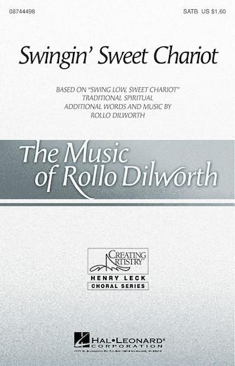 Swingin' Sweet Chariot : SAB : Rollo Dilworth : Sheet Music : 08744456 : 073999739589