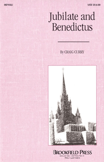 Product Cover for Jubilate and Benedictus