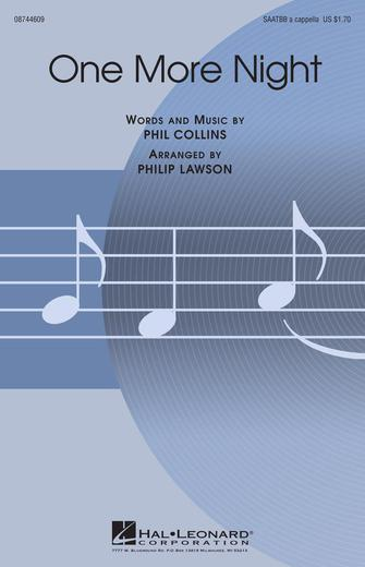 Product Cover for One More Night (arr. Philip Lawson)